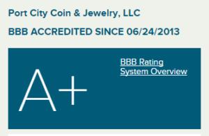 Port city coin trust worthy coin dealer